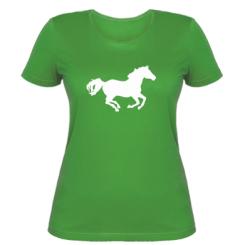 Купити Жіноча футболка Конячка