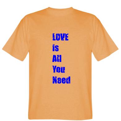 Футболка Love is all you need