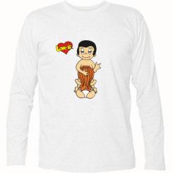 Купити Футболка з довгим рукавом Love is... Sex :)