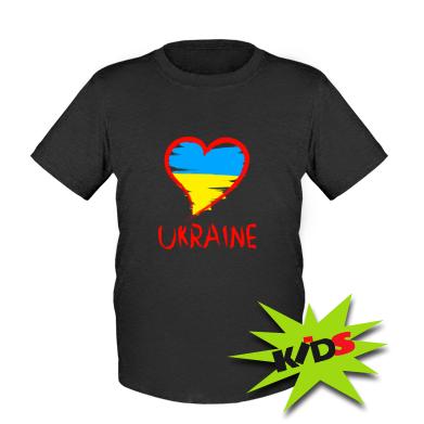 Купити Дитяча футболка Love Ukraine