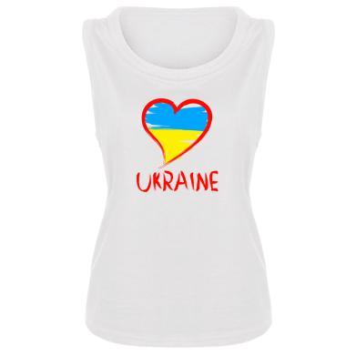 Купити Майка жіноча Love Ukraine