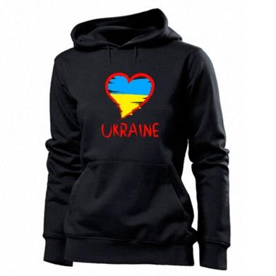 Купити Толстовка жіноча Love Ukraine