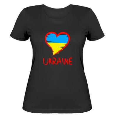 Купити Жіноча футболка Love Ukraine