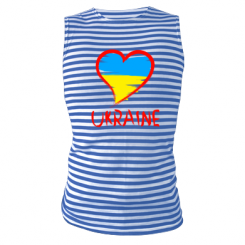 Майка-тільняшка Love Ukraine