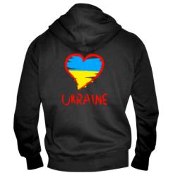 Купити Чоловіча толстовка на блискавці Love Ukraine