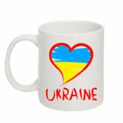 Купити Кружка 320ml Love Ukraine