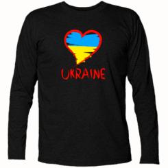 Купити Футболка з довгим рукавом Love Ukraine