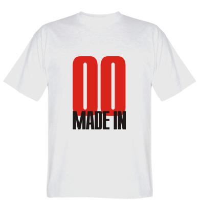 Футболка Made in 00