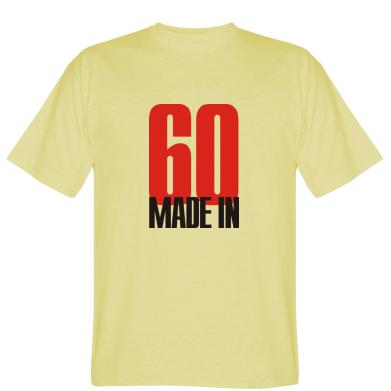 Футболка Made in 60