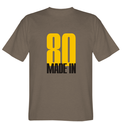 Футболка Made in 80