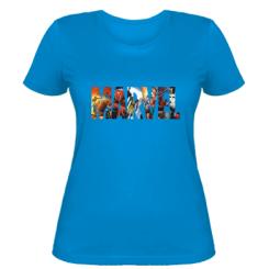 Жіноча футболка Marver Comics Logo
