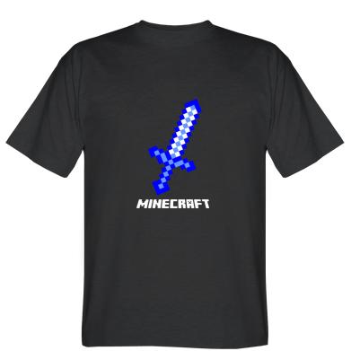 Футболка Меч Minecraft