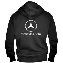 Чоловіча толстовка на блискавці Mercedes Benz