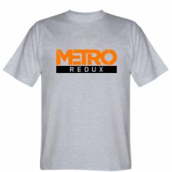 Футболка Metro Redux Logo
