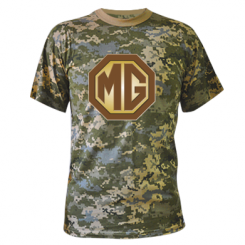 Камуфляжна футболка MG Cars