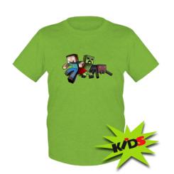 Дитяча футболка Minecraft Company