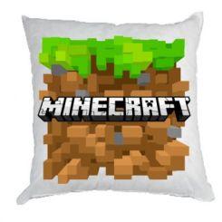 Подушка Minecraft Main Logo