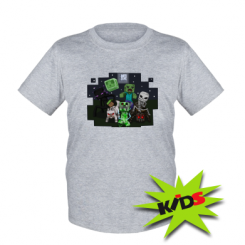 Дитяча футболка Minecraft Party