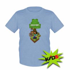 Дитяча футболка Minecraft Steve
