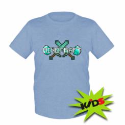 Дитяча футболка Minecraft