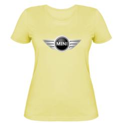 Жіноча футболка Mini Cooper