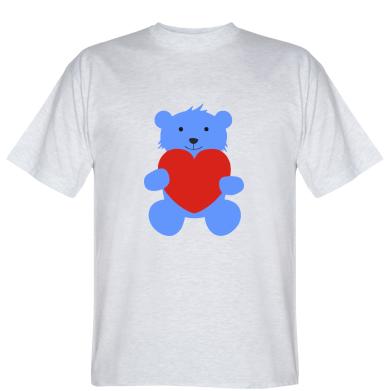 Футболка Ведмедик з сердечком