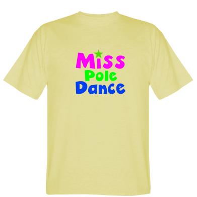 Футболка Miss Pole Dance