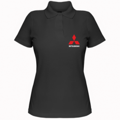 Купити Жіноча футболка поло MITSUBISHI