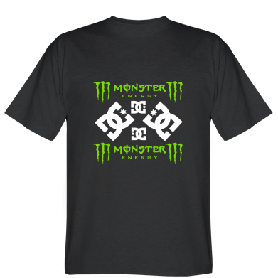 Футболка Monster Energy DC Logo