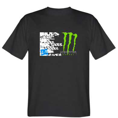 Футболка Monster Energy DC Shoes