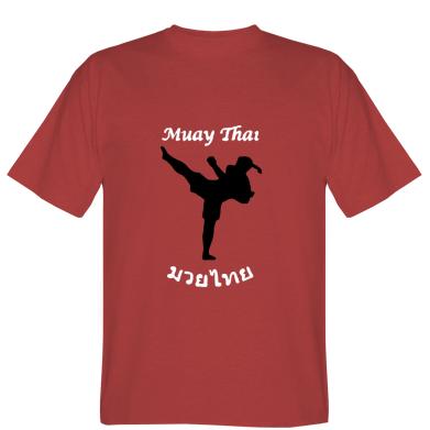 Футболка Muay Thai ієрогліфи
