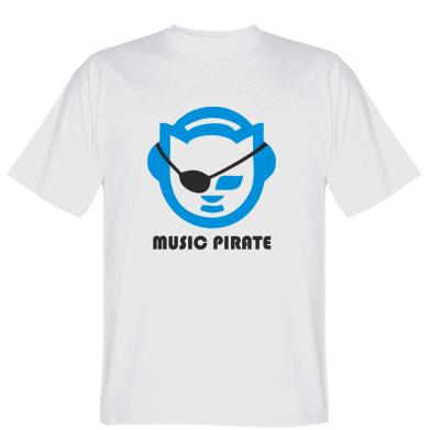 Футболка Music pirate