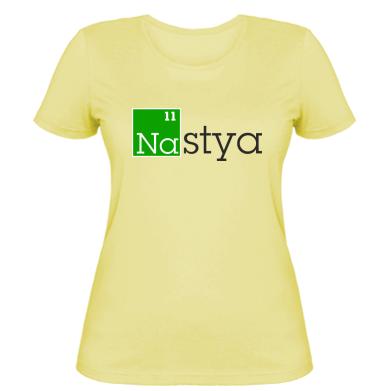 Жіноча футболка Nastya