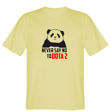 Футболка Never say NO to Dota2