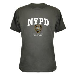 Камуфляжна футболка New York Police