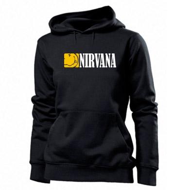 Купити Толстовка жіноча Nirvana смайл