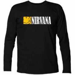 Купити Футболка з довгим рукавом Nirvana смайл