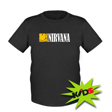 Купити Дитяча футболка Nirvana смайл