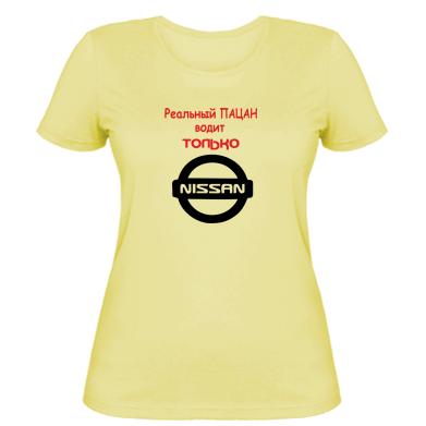 Купити Жіноча футболка Nissan