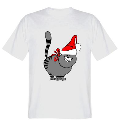 Футболка Новорічний коте