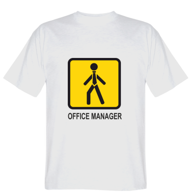 Футболка Office Manager