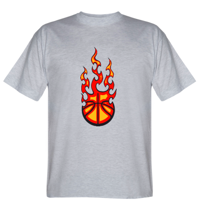 Футболка Вогненний баскетбольний м'яч
