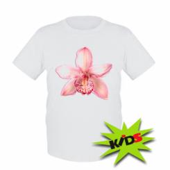 Дитяча футболка Орхідея