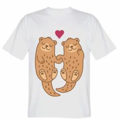 Футболка Otters in love