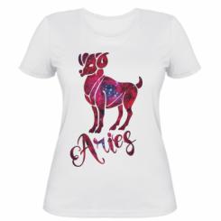 Жіноча футболка Овен зірки