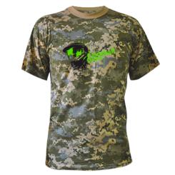 Камуфляжна футболка Paintball