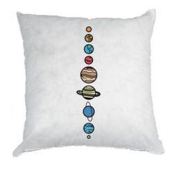 Подушка Parade of planets