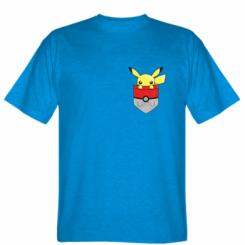 Футболка Pikachu in pocket