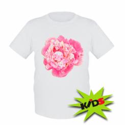 Дитяча футболка Півонія фарби