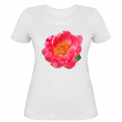 Жіноча футболка Півонія